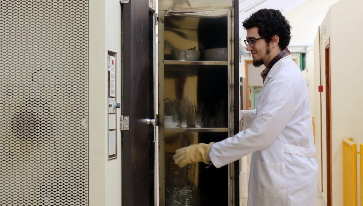 Sergi Bujosa: «Faig recerca sobre hidrogels supramoleculars»