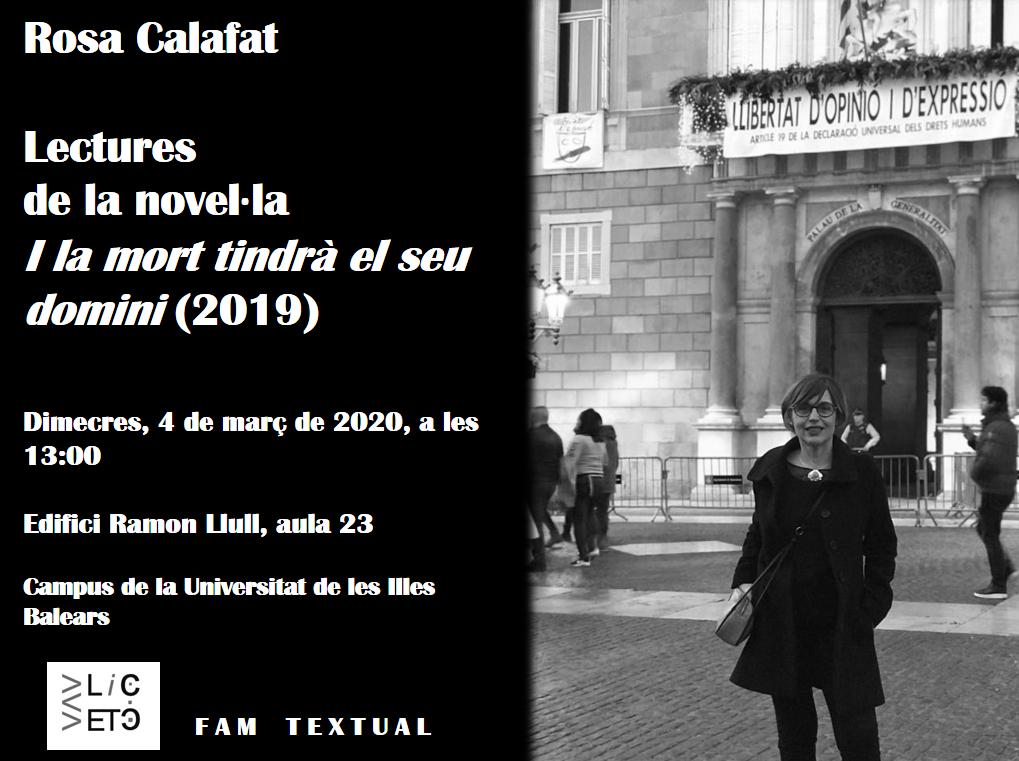 FAM TEXTUAL: una novel·la de Rosa Calafat