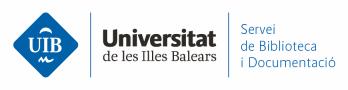 Logo Servei de Biblioteca i Documentació