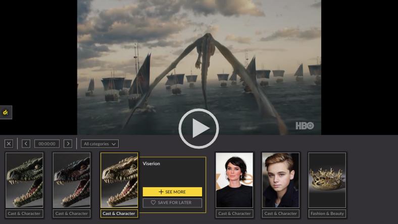 Contextualitza vídeos de pel·lícules i sèries de TV amb Dive